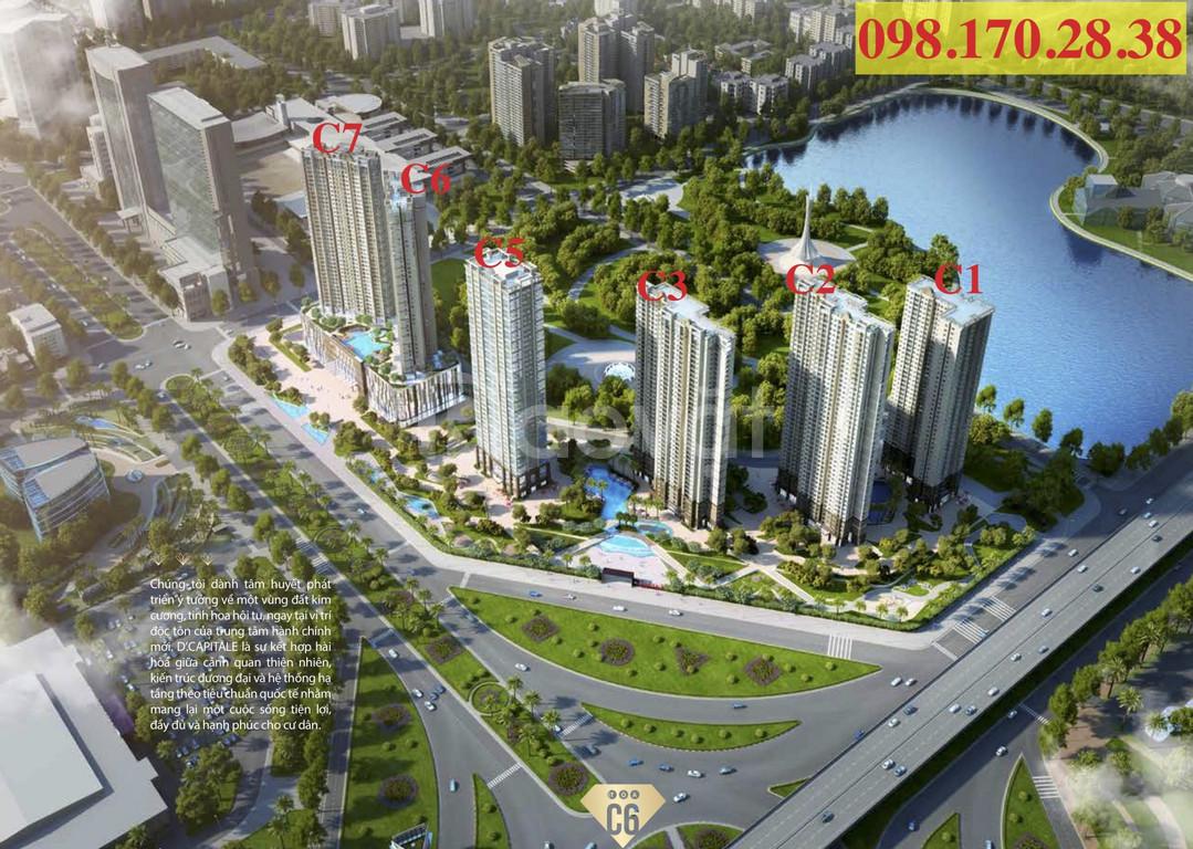 Chính chủ bán cắt lỗ căn 2 ngủ chung cư Dcapitale Trần Duy Hưng