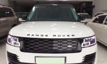 Bán Range Rover Autobiography L màu trắng nội thất nâu da bò sx 2018