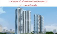 Chỉ với 240 sở hữu ngay 1 căn hộ chung cư cao cấp tại VCI TOWER