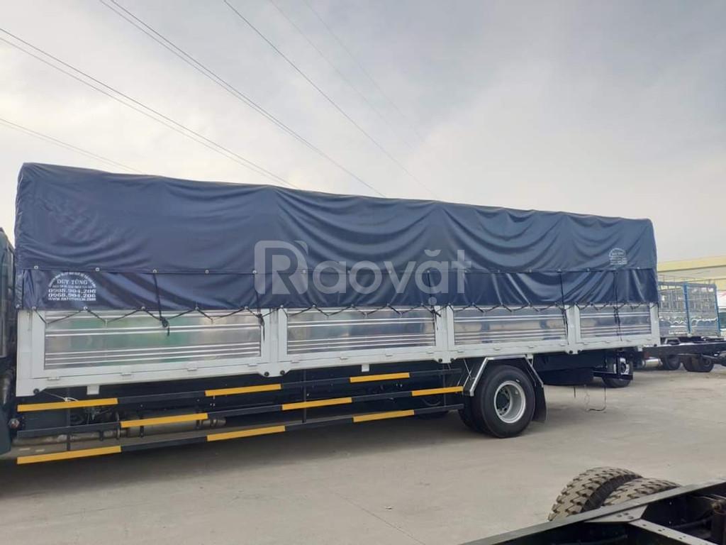 Giá xe tải faw 8 tấn thùng chở pallet thùng dài 9.7 mét|Hỗ trợ trả góp