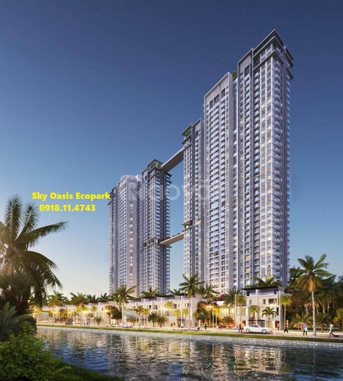 Chung cư Sky Oasis ngay Vin Ocean Park từ 890 Triệu/căn htls 0% ck 5%