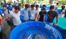 Bồn nhựa tròn nuôi cá cảnh 2000 lít giá rẻ