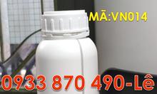 Chai nhựa 100ml tròn đựng hóa chất,chai nhựa HDPE 250ml màu trắng đục