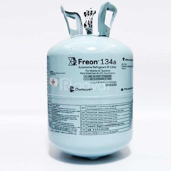 Gas Lạnh R134A Chemours Freon TQ 13.6kg