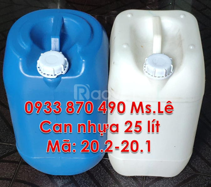 Sale can nhựa 30 lít đựng hóa chất,thùng nhựa 25L, vỏ can nhựa 20L