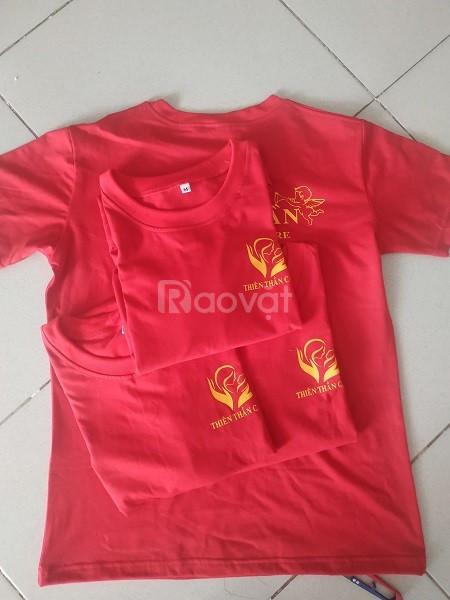 Xưởng may áo thun đồng phục online