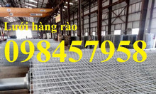 Sản xuất hàng rào mạ kẽm, hàng rào sơn tĩnh điện phi 5 mới 100%