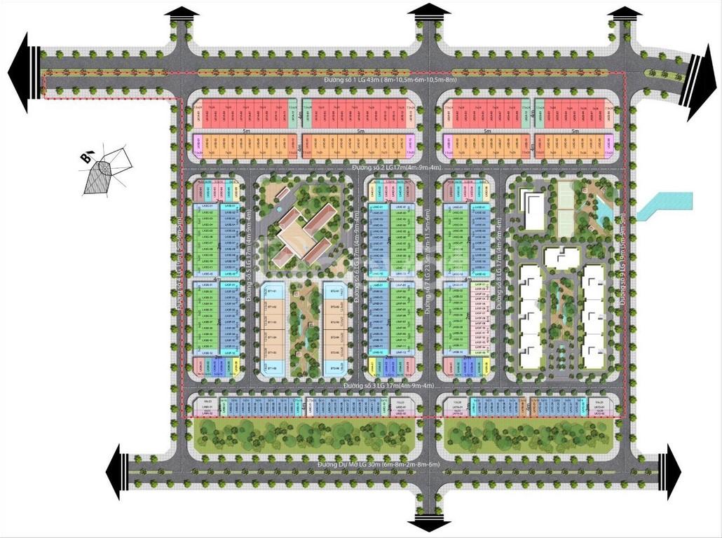 Dự án tọa lạc ngay tuyến đường Nguyễn Văn Cừ nối dài - An Bình