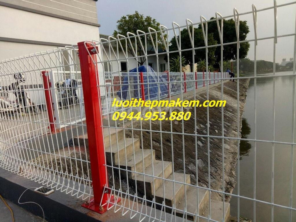 Hàng rào lưới thép, hàng rào mạ kẽm nhũng nóng, hàng rào sơn tĩnh đện