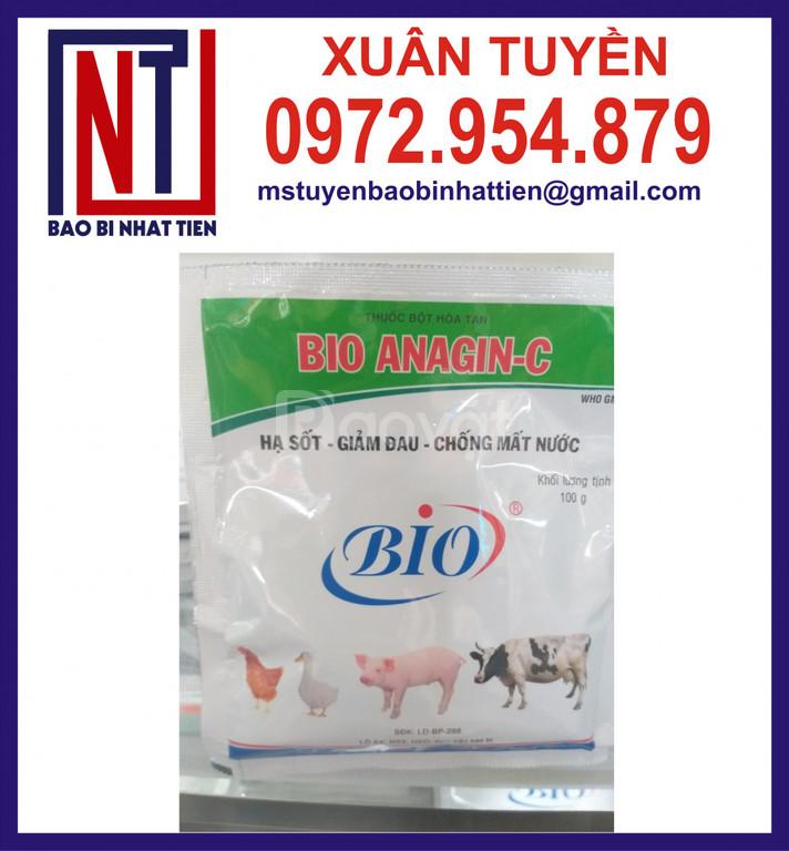 Túi PET/AL/PE đựng thuốc thú y
