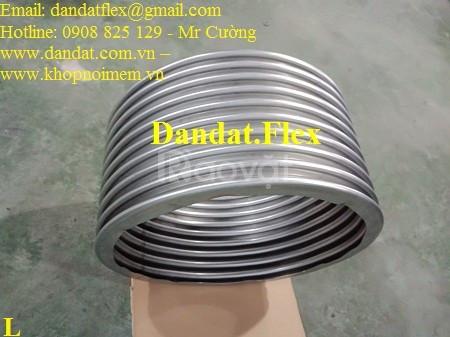 Kích thước khớp nối mềm, khớp nối giản nở inox, khớp co giản inox 304