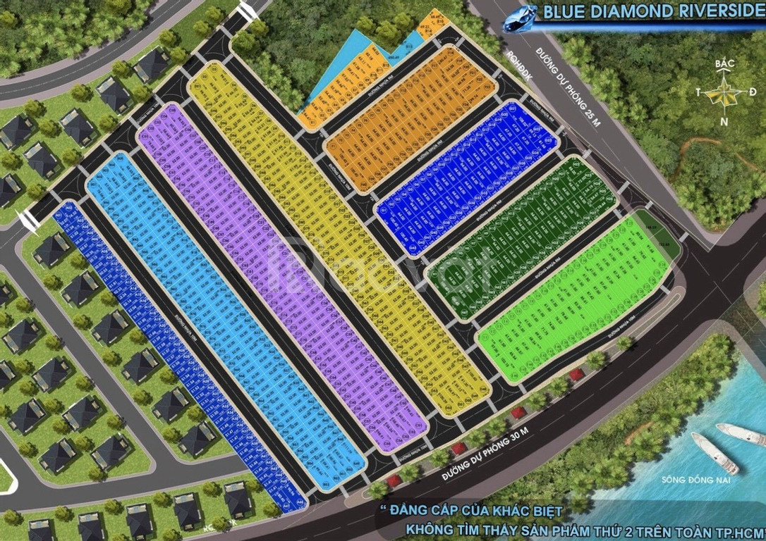 Cần bán gấp đất blue diamond riverside 52m². 1.48 tỷ