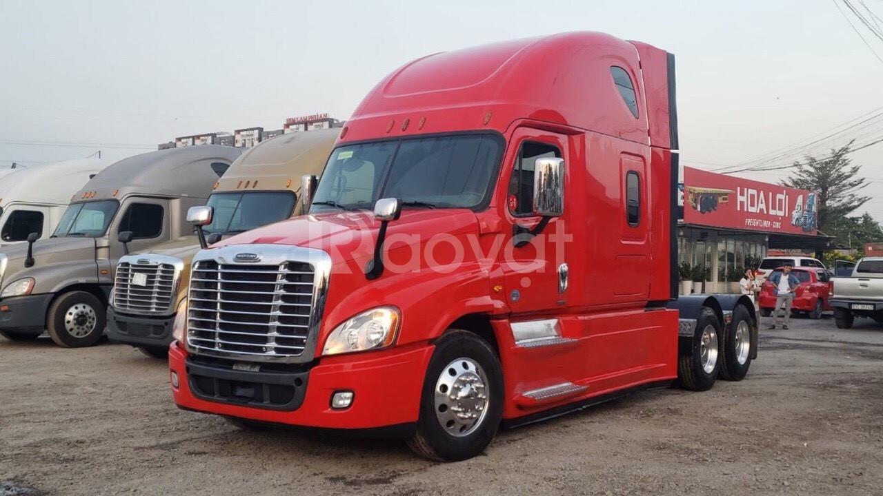 Phân phối xe đầu kéo Mỹ Cascadia chính hãng - bán xe đầu kéo mỹ