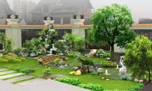 Thiết kế thi công sân vườn đẹp, cảnh quan ngoại thất, thiên nhiên