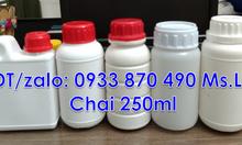 Bán chai đựng hóa chất 1 lít,chai đựng hóa chất 500ml nhựa HDPE