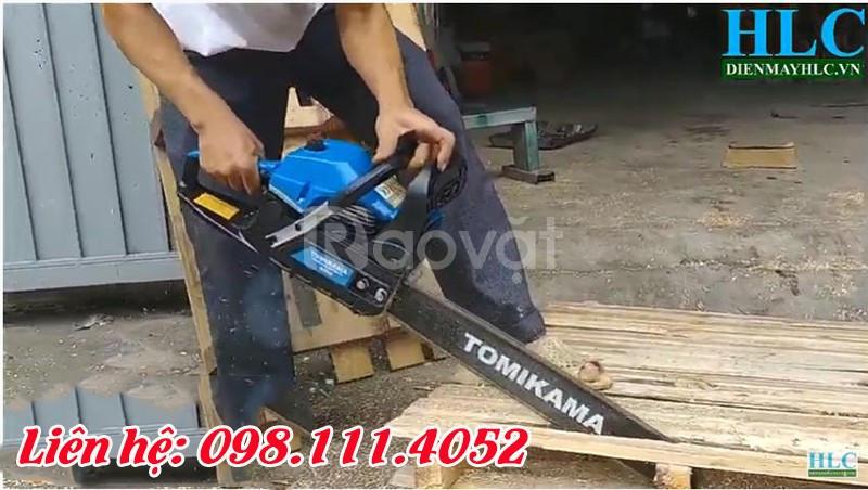 Giới thiệu top 3 máy cưa gỗ cầm tay chạy xăng giá rẻ tốt
