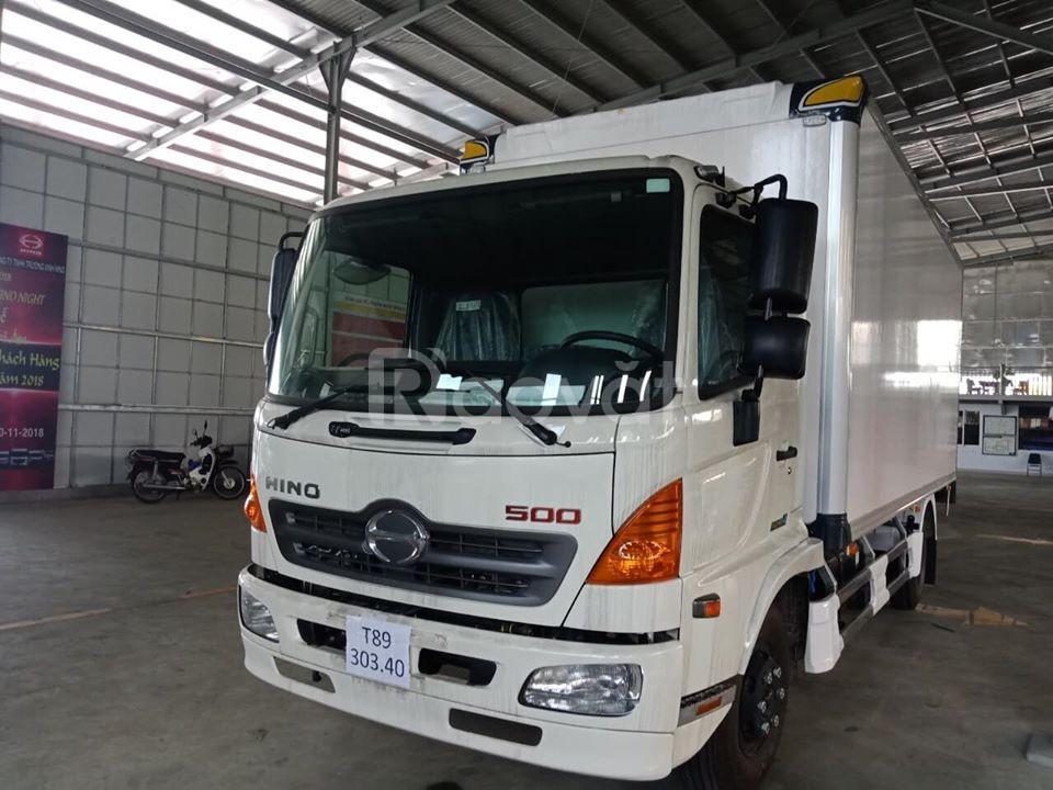 Xe tải Hino 500 FC 7T thùng bảo ôn 6m6