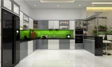 Tủ bếp ở thủ đức - kiểu mẫu đẹp - thi công theo yêu cầu