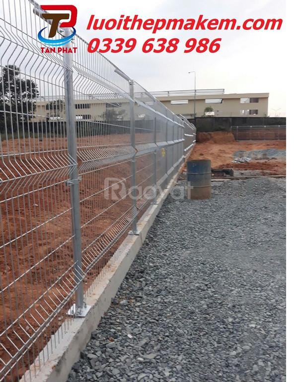 Hàng rào mạ kẽm, hàng rào lưới thép, hàng rào thép