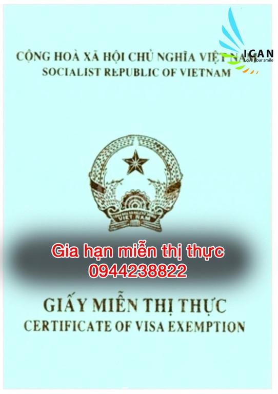 Gia hạn visa việt nam tại TPHCM-Quận 3
