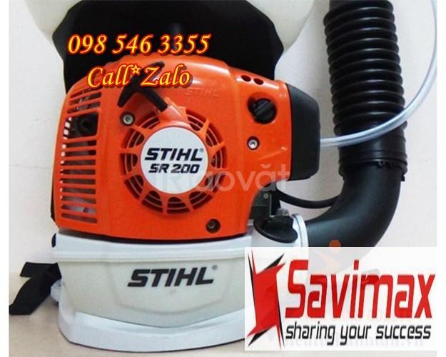 Máy phun thuốc khử trùng, máy phun thuốc phòng dịch bệnh StihlSR200