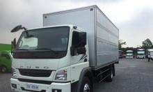 Bán xe tải fuso 5 tấn thùng kín
