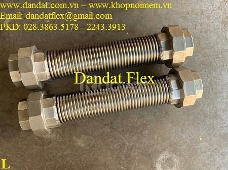 Cung cấp ống nối chống rung , ống mềm giảm rung inox, khớp nối mềm 304