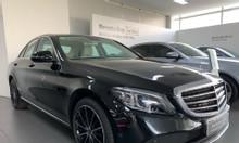 Xe lướt hãng Mercedes C200 Exclusive 2019 đen kem mới 100% chỉ 2% thuế