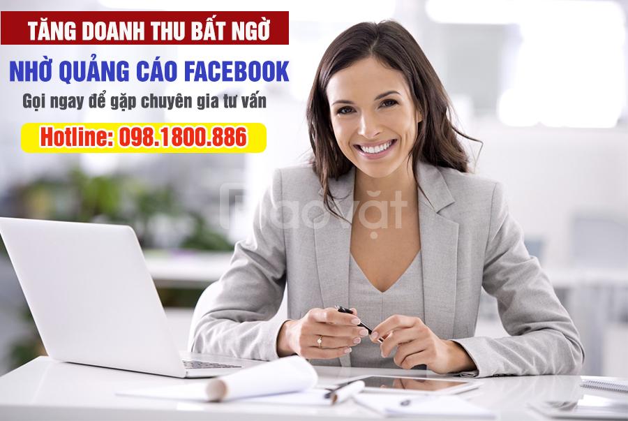 Dịch vụ quảng cáo Facebook cho cá nhân, doanh nghiệp