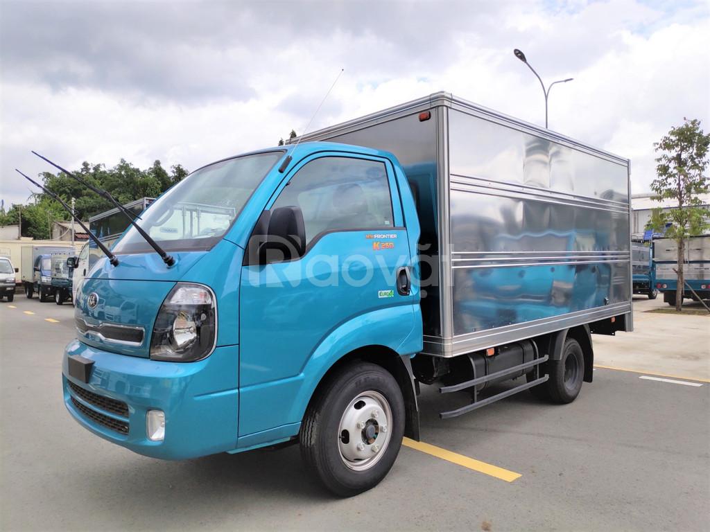 Xe tải thaco kia k250 2 tấn 49 đời 2020