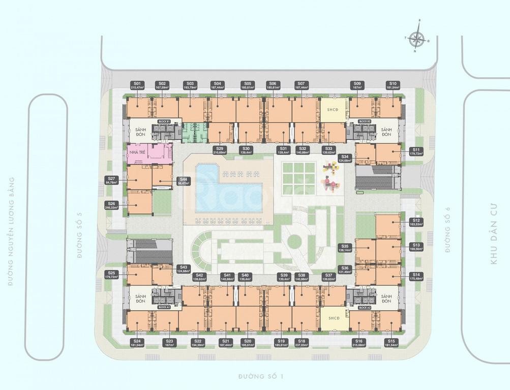 Shophouse thương mại Q7 Boulevard Hưng Thịnh Quận 7