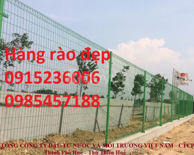 Hàng rào sơn tĩnh điện phi 4, phi 5, phi 6 làm theo yêu cầu