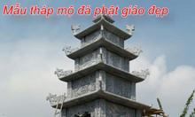 Hình ảnh 40 mẫu tháp mộ đá phật giáo đẹp được chế tác tai Ninh Bình