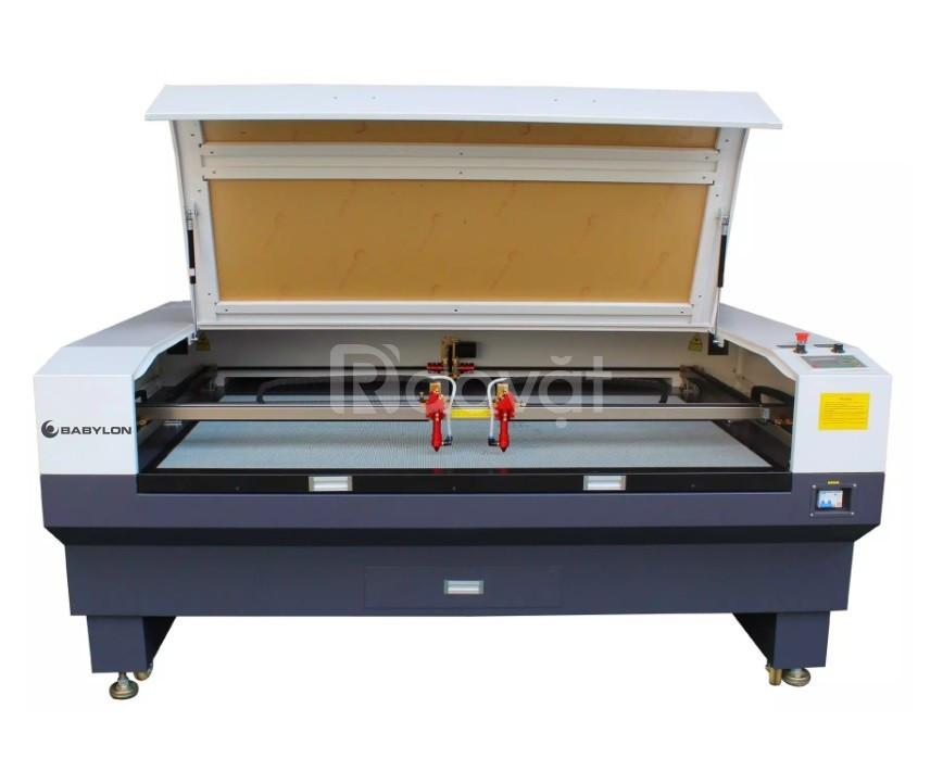 Máy cắt vải laser 1610 hai đầu chất lượng tại Hà Nội