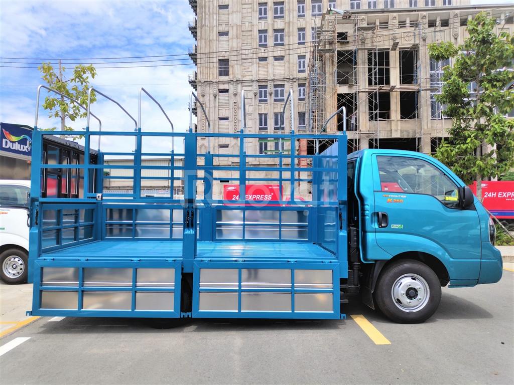 Xe tải Kia Frontier K250 tải trọng 2,49 tấn đời mới 2020