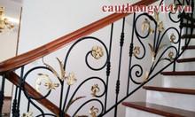 Thiết kế, thi công cầu thang sắt đẹp giá rẻ tại Hà Nội