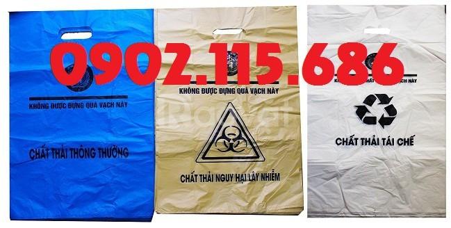 Túi đựng chất thải nguy hại, túi đựng chất thải lây nhiễm,
