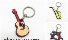 Móc khóa hình nhạc cụ