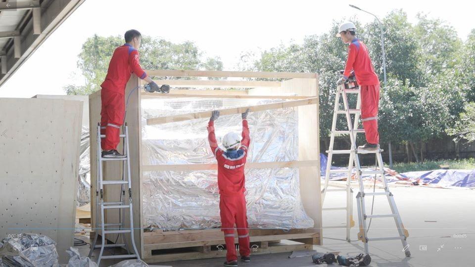 Dịch vụ đóng thùng gỗ an toàn, giá rẻ tại kcn Thạch Thất