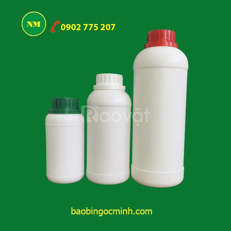 Sản Xuất chai nhựa 500ml, chai nhựa 1 lít