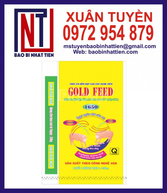 Bao bì thức ăn gia súc 25kg, 40kg