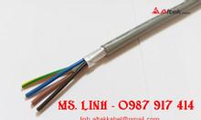 Cáp điều khiển SH-500 4x1.5mm2, Cáp RVVP 4x1.5