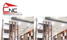 Trọn bộ lam gỗ cnc phòng khách trang trí đẹp tại TPHCM