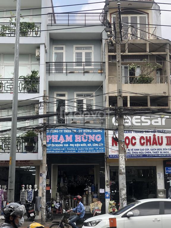 Bán nhà 2 mặt tiền 435 Lý Thường Kiệt, phường 8, Tân Bình