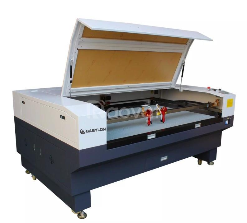 Máy cắt vải laser 1610 2 đầu tại Hà Đông