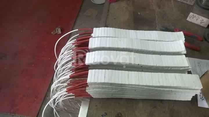 Điện trở nhiệt sứ bản gia nhiệt công nghiệp