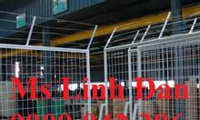 Lưới thép hàng rào di động có bánh xe, lưới thép hàng rào di động