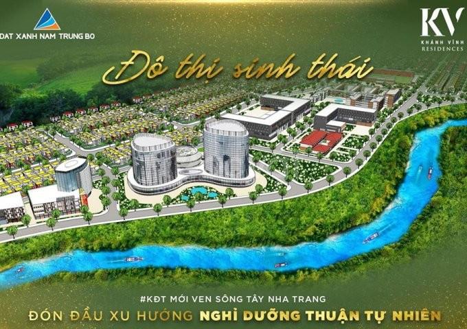Đất nền sinh thái Khu đô thị Khánh Vĩnh, sổ đỏ riêng chỉ 666Tr/nền