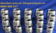 HCM bán đầu nối ống ruột gà lõi thép, phụ kiện inox, đầu nối ống mềm