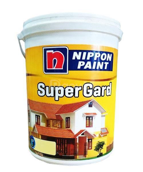 Đại lí cấp 1 sơn ngoại thất Nippon Supergard thùng 18l tại Bình Thuận